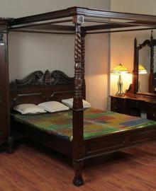 Set Kamar Tidur Canopi