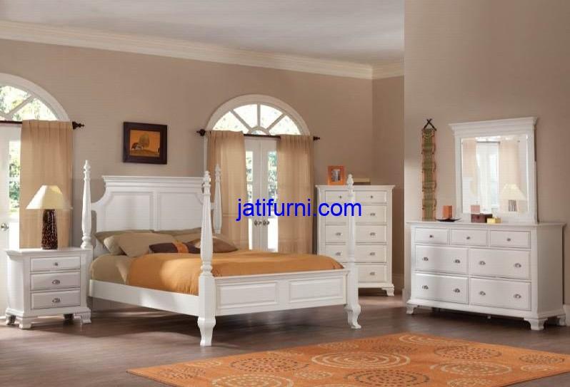 Set Tempat Tidur Jepara Mewah