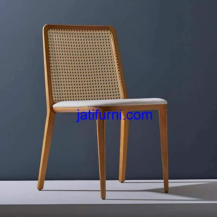 Kursi Cafe Rotan Dinning Chair