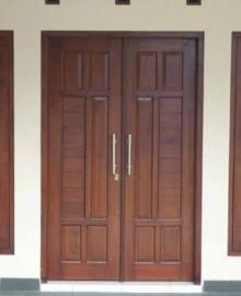 Kusen Pintu Minimalis Jati Terbaru