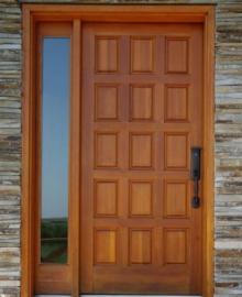 Model Kusen Pintu Rumah Kayu Jati