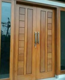 Pintu Rumah Kayu Jati Jepara