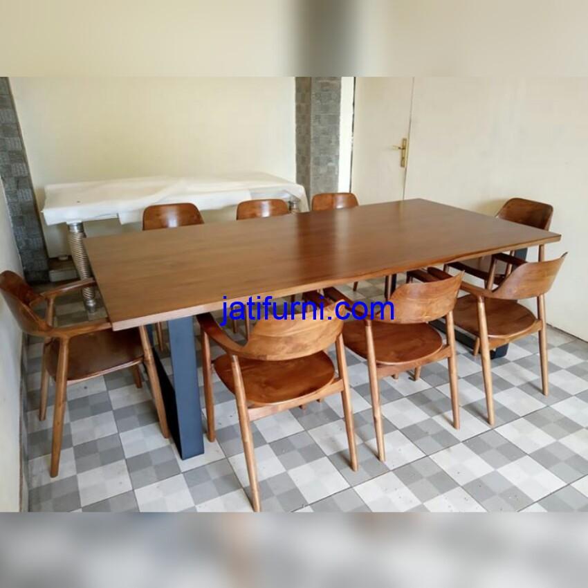 Set Kursi Cafe Kayu Jati Solid