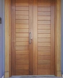 Kusen Pintu Kayu Jati Modern